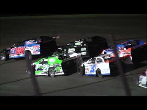 USMTS @ Salina HighBanks Speedway Bmain #1  8-17-2019