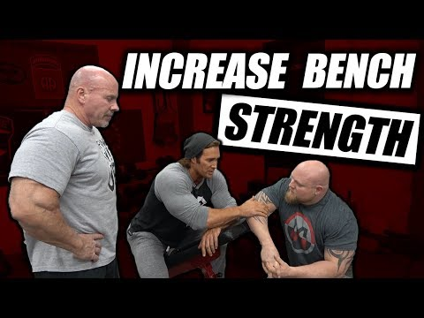 3 Tips To Increase Bench Press Strength | FT Mike O'Hearn - Stan Efferding - Matt Wenning
