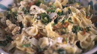 Bacon, Rapini And Ricotta Pasta Recipe || Kin Eats