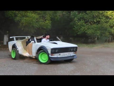 Купе - кабриолет из ВАЗ 2106. Стеклопластик из полиэфирной смолы. Часть 4