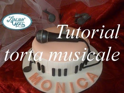 Cake Design Strumenti Musicali : Torta di compleanno