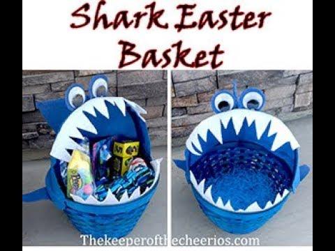 Shark Easter Basket