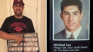 Man Predicts Chicago Cubs 2016 World Series Win In Yearbook Over 20 Years Ago