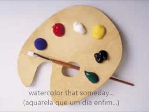 Brazilian Music Translated Into English Aquarela Watercolor