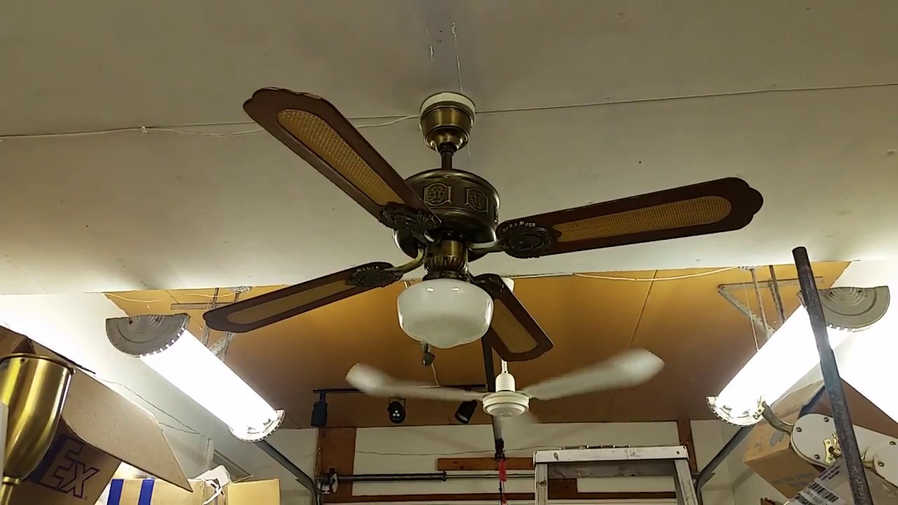 Smc Shell Manufacturing Co The Emperor Ceiling Fan Model T 52