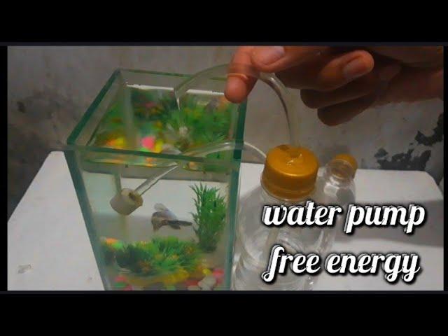 Cara Membuat Air Mancur Tanpa Listrik Aquarium Youtube