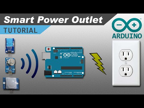 How to Make an Arduino Controlled Power Outlet Box