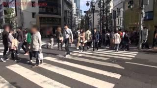 Japan Trip 2013 Tokyo Shibuya 24/7 restaurant  Koen-dori Crossing 619