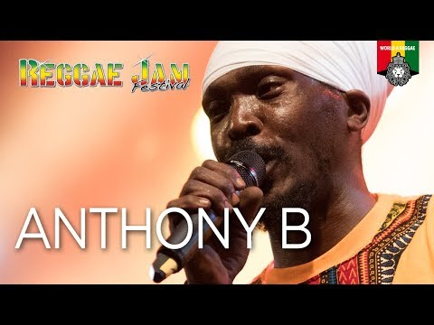 Anthony B Live at Reggae Jam 2017
