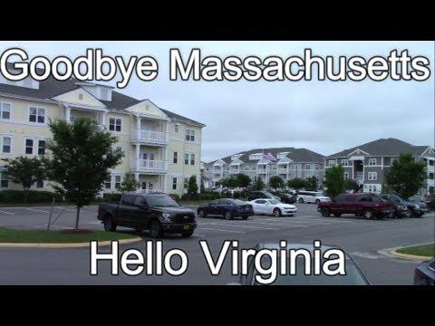 Goodbye Massachusetts, Hello Virginia