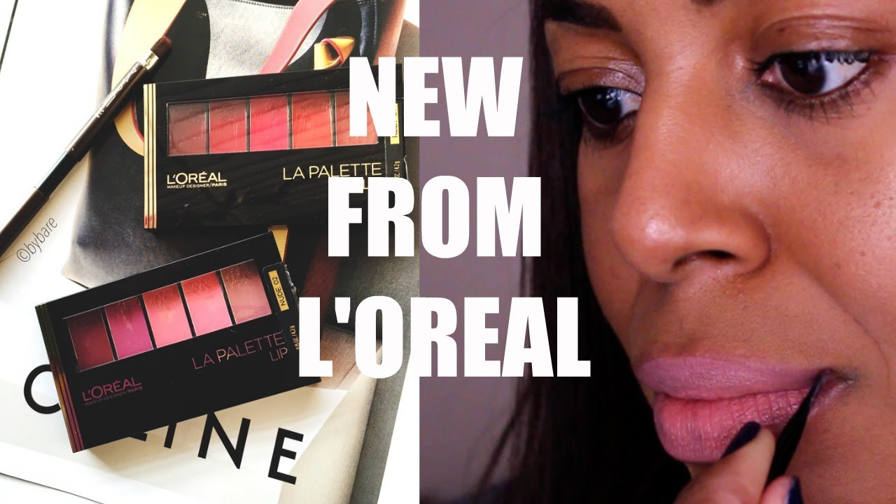 LOreal-Paris-Color-Riche-Lip-Palette-Red // Quick Swatch - YouTube