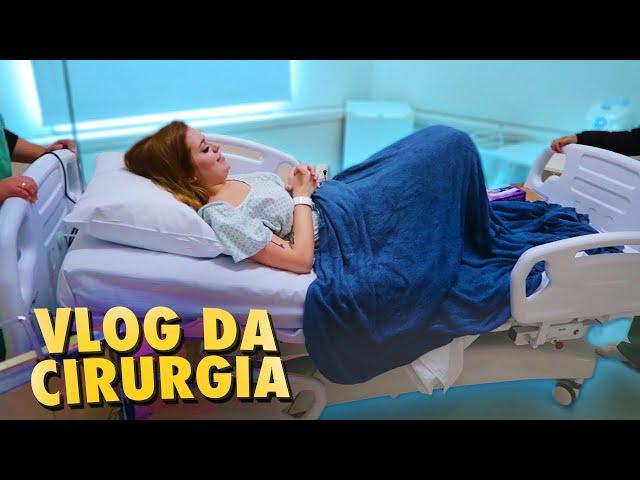 COLOQUEI PEITO COM A MINHA MÃE - Dia da Cirurgia