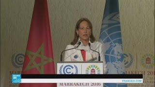 سيغولين رويال في افتتاح قمة المناخ بمراكش