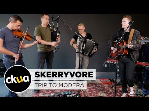 Skerryvore 'Trip to Modera' live at CKUA