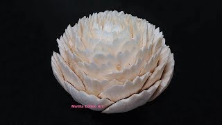 Mushroom Dianthus Flower Ideas - Advanced Lesson 14 By Mutita Art Of Fruit And Vegetable Carving