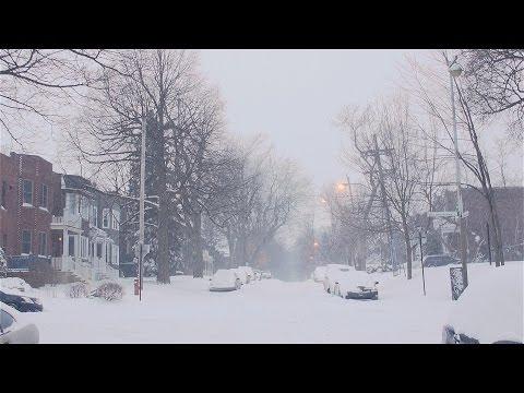 Montreal Snow Storm -- 15 December, 2013 --Tempête de Neige
