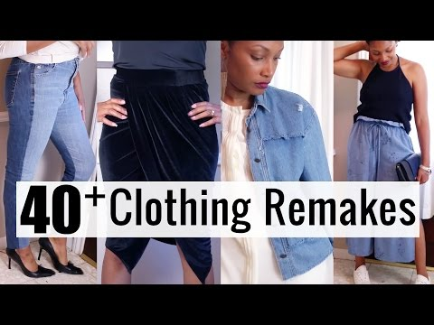 40+ Clothing Transformations You MUST Try in 2018! | BlueprintDIY