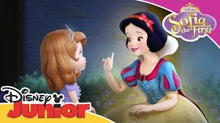 Snow White Helps Sofia to be Brave | Sofia the First | Official Disney Channel Africa