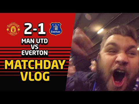 Tony Martial Came From France! | Manchester United 2-1 Eveton | Matchday Vlog