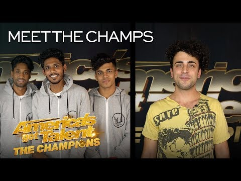 Golden Buzzer Act V.Unbeatable and Italy's Moses Concas! - America's Got Talent: The Champions