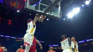 Daniel Theis Eurobasket 2017 Highlights vs Spain (15 pts, 4 reb)