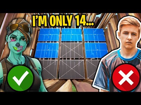 Meet the FASTEST EDITOR on Fortnite... and He's ONLY 14! (Faster than Symfuhny?)