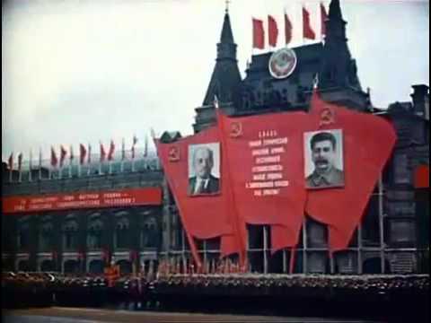 Парад Победы 1945 года. Красная площадь 24 июня