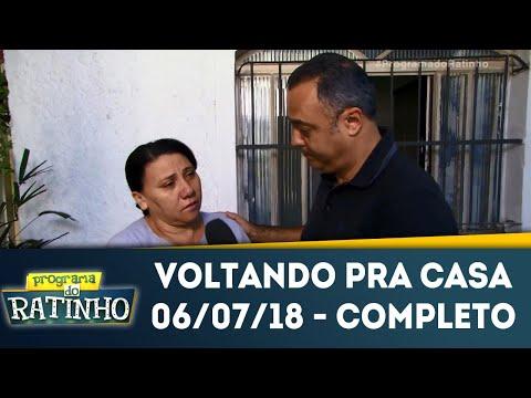Voltando Pra Casa | Programa Do Ratinho (06/07/18)