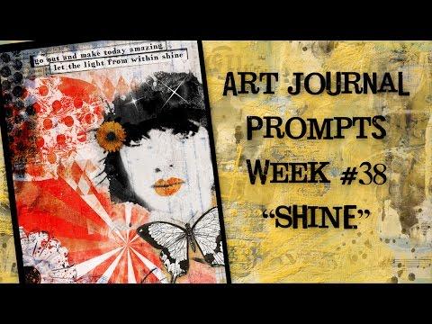 Art Journal Prompts  - Week 38