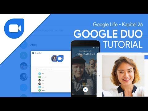 Google Duo (Tutorial) Video/Sprachanrufe Auf Allen Geräten | Google Life #26
