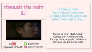 LIRIK IU - THROUGH THE NIGHT by GOMAWO [Indo Sub]