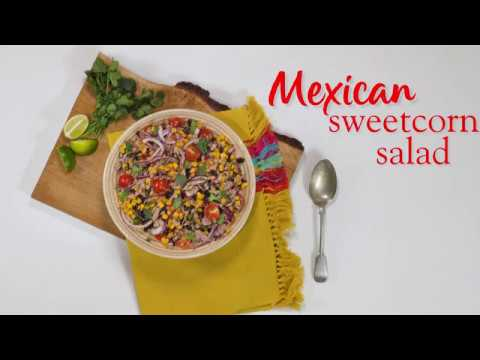 Slimming World Syn Free Mexican sweetcorn salad recipe - SYN FREE