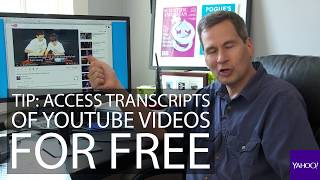 How to make YouTube transcripts thumbnail