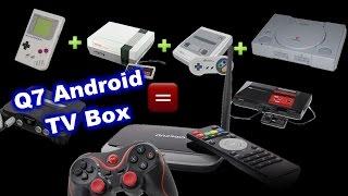 Q7 TV-box CS918 (MK888) - ретро-игровой комбайн.