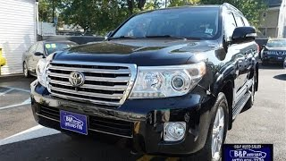 2013 Toyota Land Cruiser Vehicle Overview