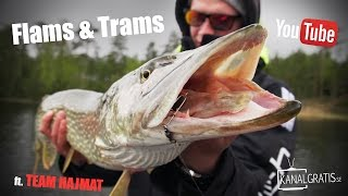 Flams & Trams - Post-Spawn Pike Fishing at Åland ft. Team Hajmat | Kanalgratis.se
