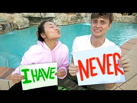 NEVER HAVE I EVER with MY CRUSH!!