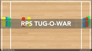 Rock Paper Scissors Tug-O-War - Physical Education Game (Health \u0026