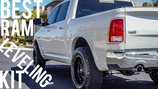 The BEST Ram 1500 Leveling Kit | Installed at CJC Off Road | Jay Flat Out