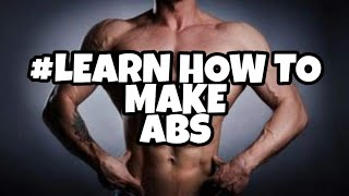 Learn Stomach exercises | Make your abs | WU SHU KWOON INDIA|