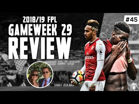 FPL Family - GW29 Review (STARTS 11:04) - Derby Day hell for Aubameyang owners! (FPLFamily)
