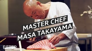 How Americas First 3 Star Michelin Sushi Chef Serves His Fish