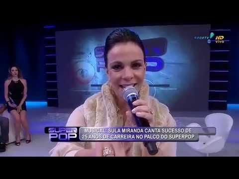 SuperPop: Sula Miranda Solta A Voz E Celebra 25 Anos De Carreira