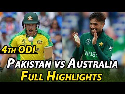 Pakistan Vs Australia | 4th ODI Highlights | PCB