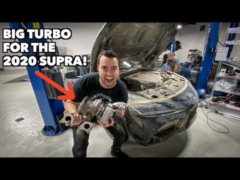 BIGGER TURBO FOR MY 2020 SUPRA! *More Power*