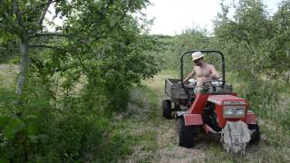 Actively Aerated Compost Teas - holistic orchard care