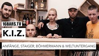 K.I.Z. über die Anfänge, Tourerlebnisse, Jan Böhmermann und den Weltuntergang   16BARS.TV