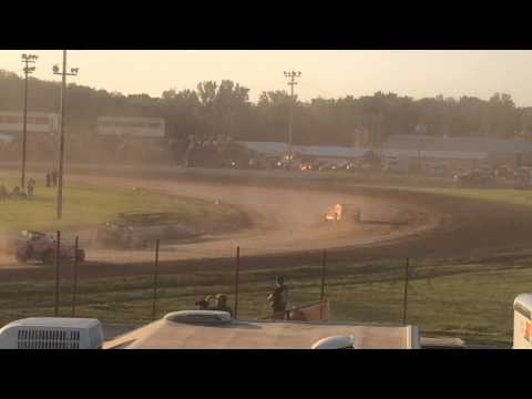 Canandaigua SDS Heat race #4 - Dale Planck in the 66X