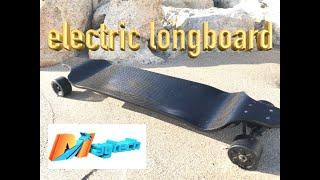 DIY CARBON FIBER ELECTRIC LONGBOARD