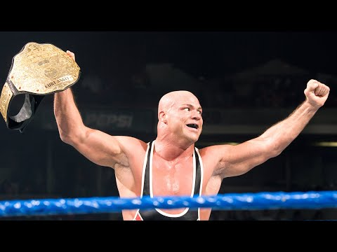 Kurt Angle's Six World Championship Victories: WWE Milestones